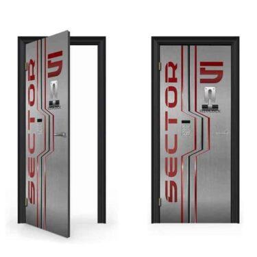 Airlock door decal